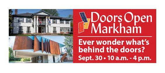 Doors Open Markham  sc 1 st  Markham Today & MarkhamToday.ca :: Doors Open Markham