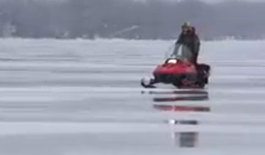 Unpredictable Ice Conditions On Lake Simcoe