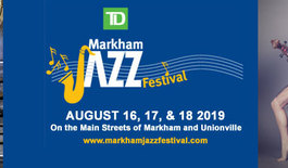 It's TD Markham Jazz Festival week!