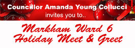 Markham Ward 6 Holiday Meet & Greet