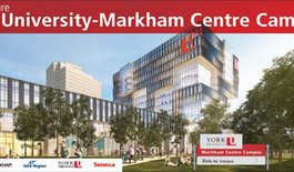 Mayor and Partners committed to YorkU Markham Camps project