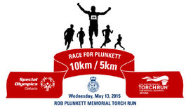 8th Annual Race For Plunkett Torch Run For Special Olympics